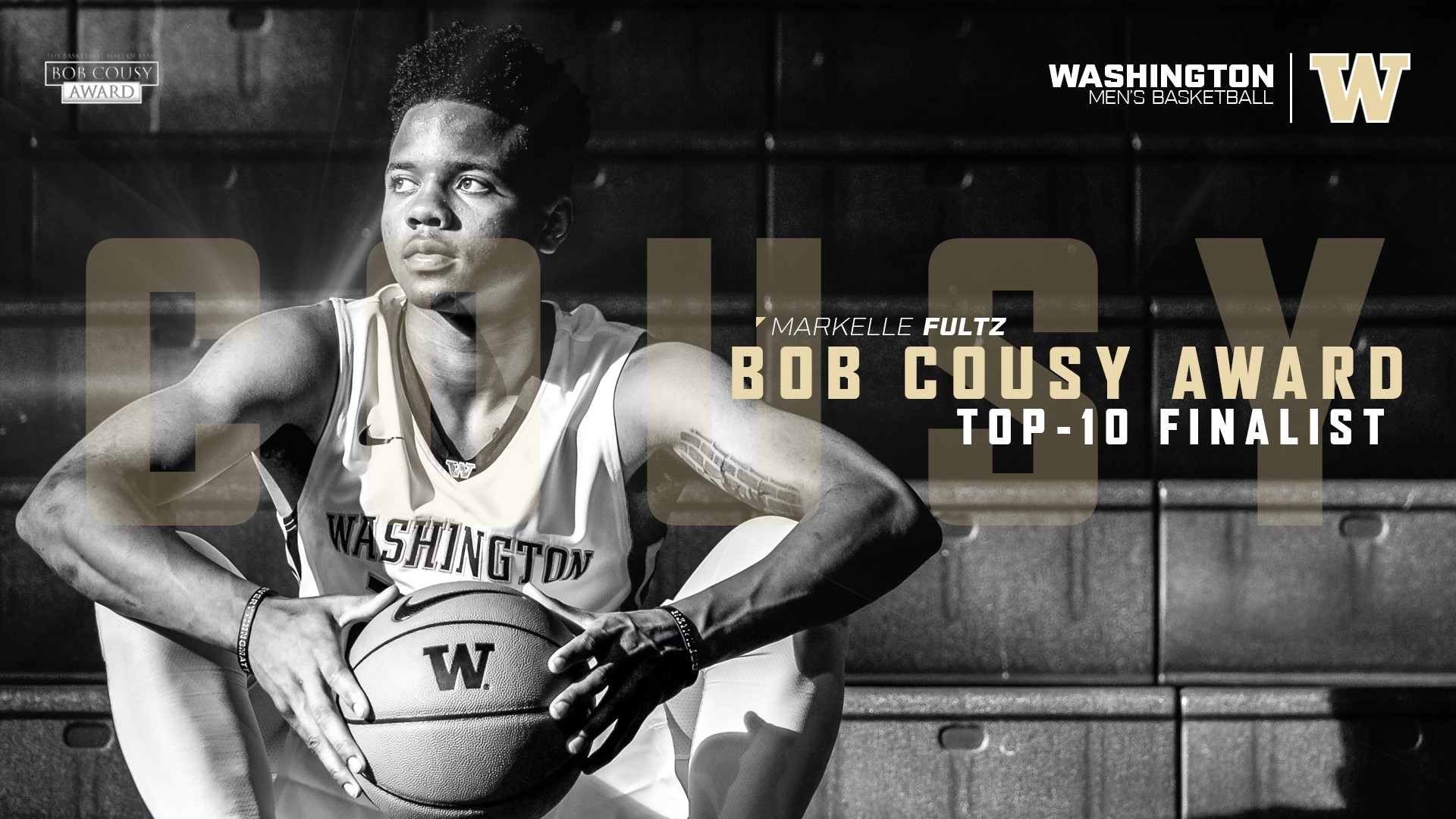 Fultz Selected as e of 10 Finalists for Bob Cousy Award